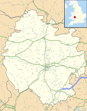 Map of Putley Parish